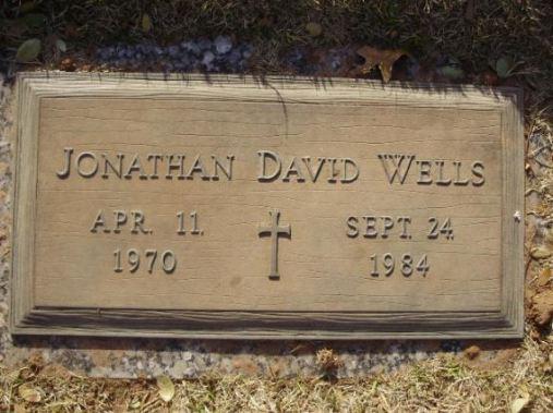 David Wells grave